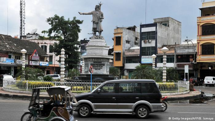 Indonesien Medan Nord Sumatra Straßenszene