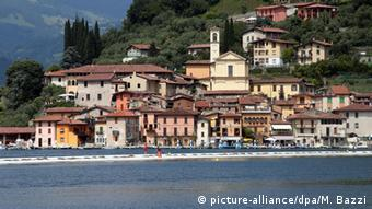 Italy Lake Iseo, Copyright: picture-alliance/dpa/M. Bazzi