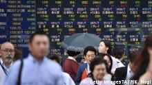 Tokyo Börse 2016