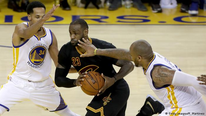 USA NBA Basketball - Cleveland Cavaliers vs. Golden State Warriors - LeBron James