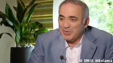 Interview Nemtsova und Kasparow