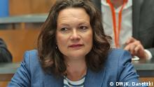 Arbeitsministerin Andrea Nahles DW