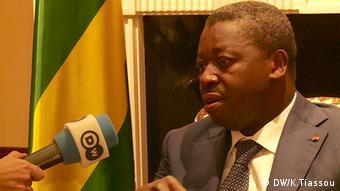 Faure Gnassingbé Präsident Togo in Berlin Deutschland