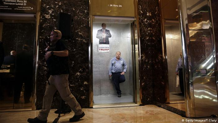 Trump Tower Innenansicht New York USA