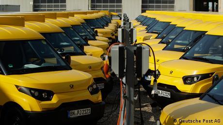 Deutsche Post Elektroautos StreetScooter (Deutsche Post AG)
