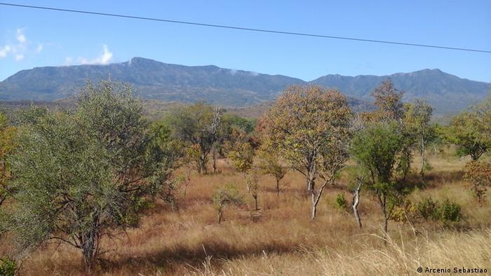 Vunduzi, na região de Gorongosa