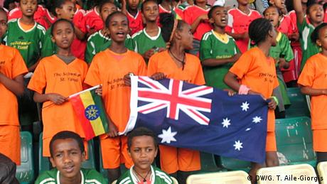 Äthiopien Addis Abeba Fußballturnier der Botschaften