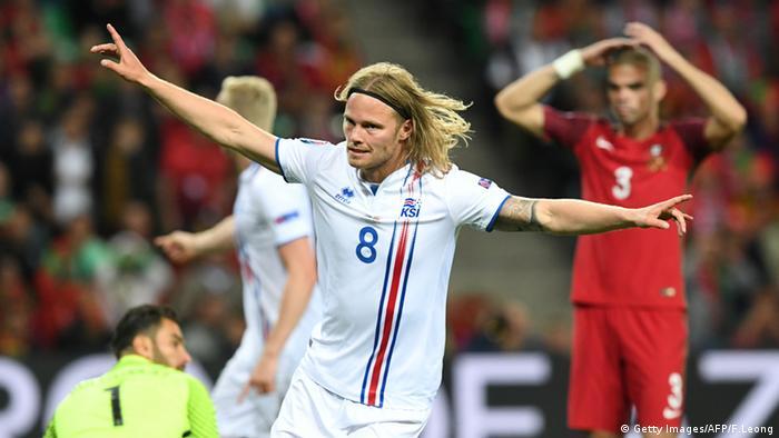 EURO 2016 Portugal vs Island