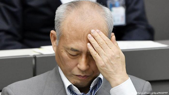 Yoichi Masuzoe in Tokyo