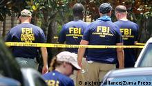 June 14, 2016 - Orlando, FL, USA - FBI agents return to the scene of the mass shooting at Pulse nightclub in Orlando, Fla., on Tuesday, June 14, 2016 +++ (C) picture-alliance/Zuma Press