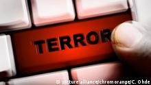 Symbolbild Online Radikalisierung von Terroristen