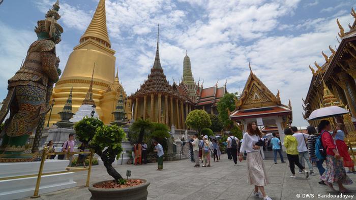 Thailand Bangkok Königlicher Palast (DW/S. Bandopadhyay)