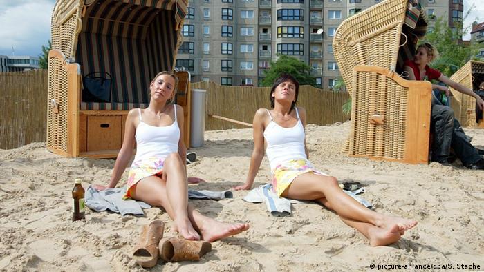 Пляжный клуб в Берлине