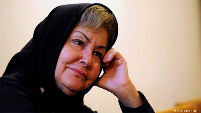 Nahid iranische Sängerin (musiceiranian.ir)