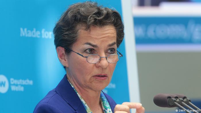 Kristijana Figeres, nekadašnja šefica Sekretarijata za klimu UN