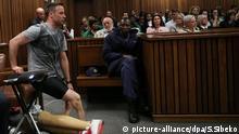 Oscar Pistorius Gericht Prothesen