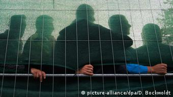Asylum seekers in Hamburg