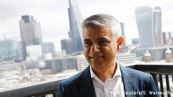London's Mayor Sadiq Khan, Copyright: Reuters/S. Wermuth