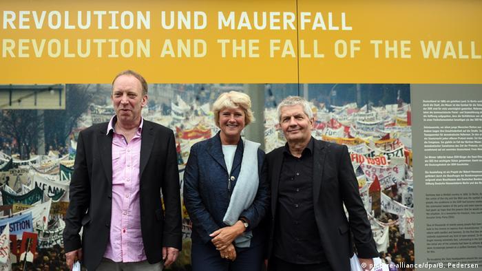 Projektleiter Tom Sello, Staatsministerin Monika Grütters und Stasi-Akten-Chef Roland Jahn (v.l.n.r.)