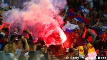 UEFA EURO 2016 Russische Fans im Stadion beim Spiel gegen die Slovakai