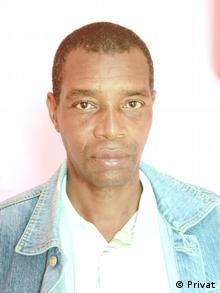 Afrika Mosambik João Chamusse, Direktor von Zambeze Zeitung