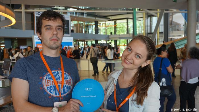 GMF Freedom of Speech Roman Dobrokhotov und Ekaterina Kuznetsova