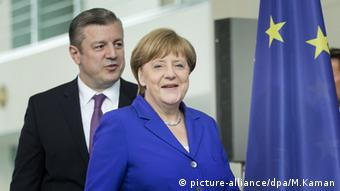 Грузинський прем'єр та німецька канцлерка в Берліні