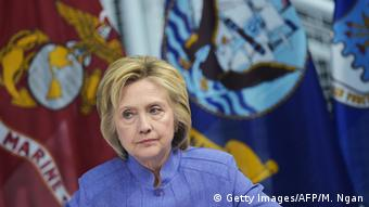 USA Hampton Virginia Hillary Clinton bei Sicherheitskonferenz