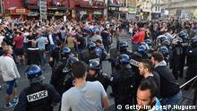 Frankreich Lille Krawalle Fußballfans EURO 2016