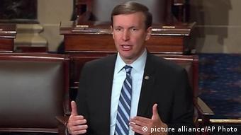 USA Chris Murphy im Kongress in Washington (picture alliance/AP Photo)