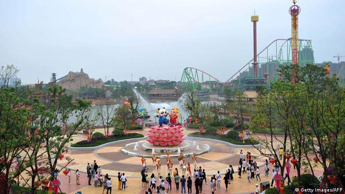 China Vergnügungspark Wanda City in Nanchang (Getty Images/AFP)