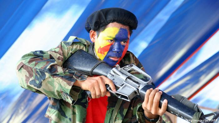 Philippinen Neue Volksarmee (NPA) (Getty Images/AFP/AFP)