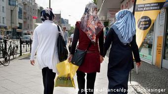 Мусульманки в Германии