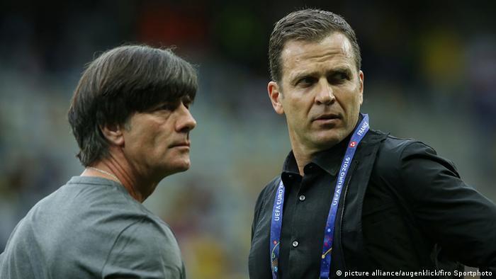 Frankreich UEFA EURO 2016 Deutschland - Ukraine Löw und Bierhoff