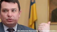 Artem Sytnyk Leiter des Ukrainischen Nationalen Antikorruptionsbüros