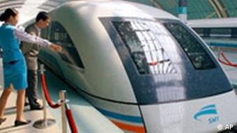 China Transrapid in Schanghai