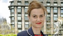 Jo Cox shooting. File photo dated 12/05/15 of Labour MP Jo Cox, who has been shot in Birstall near Leeds, an eyewitness said. Issue date: Thursday June 16, 2016. See PA story POLICE MP. Photo credit should read: Yui Mok/PA Wire URN:26626873 | © picture-alliance/empics/Y. Mok