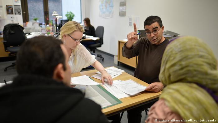 Подача заявления на соискание убежища в Германии
