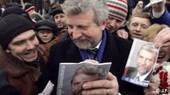 Экс-кандидат в президенты Александлр Милинкевич