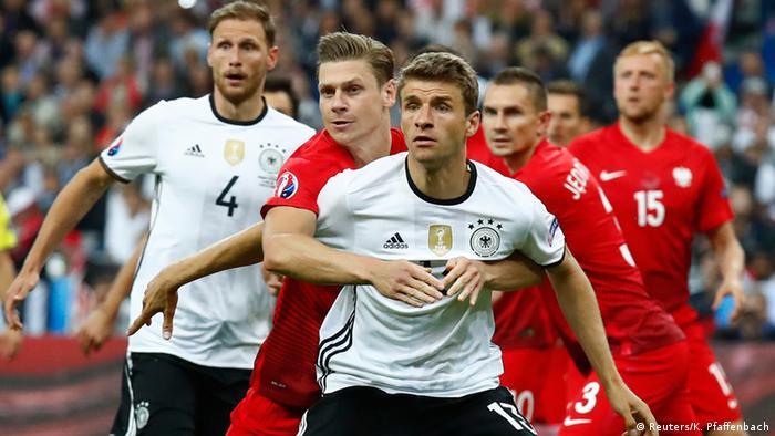 7763b9e20e5 Euro 2016: Germany and Poland play to scoreless draw | Sports ...