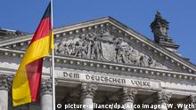 Deutscher Bundestag Deutschlandflagge