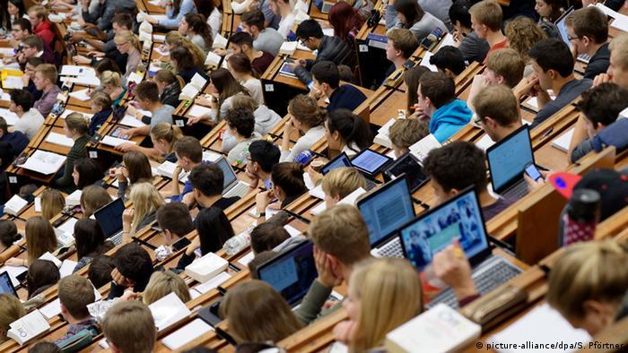 Deutschland Studierende der Georg-August-Universität