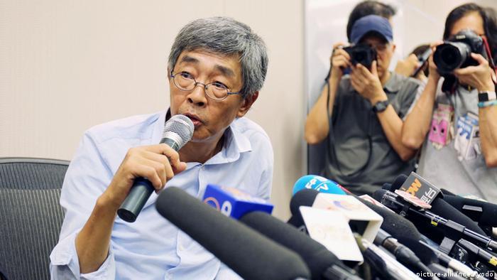 Hongkong Pressekonferenz Lam Wing-kee