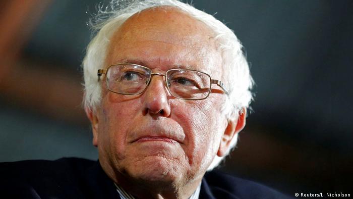 USA Bernie Sanders Präsidentschaftskandidat