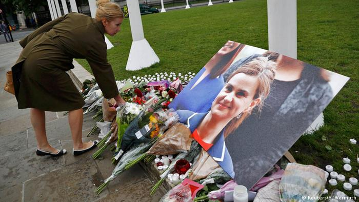 London Trauer um Jo Cox