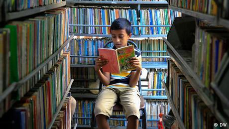 Bangladesch Dhaka Bishwo Shahitto Kendro Mobile Bibliothek