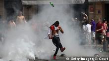 Frankreich Hooligans Randale in Marseille