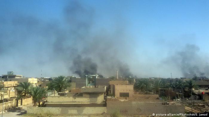 Irak Falludscha Iraqi Air Force Luftangriff