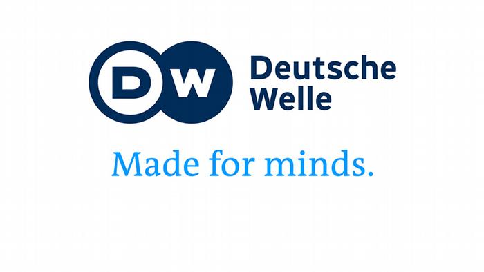 DW Deutsche Welle Logo Made for minds.