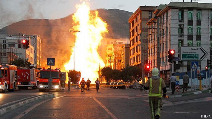 Iran KW24 Feuer